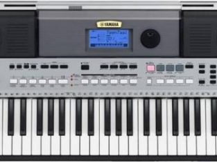 Yamaha PSR-455 Keyboard with Adapter Digital Portable Keyboard