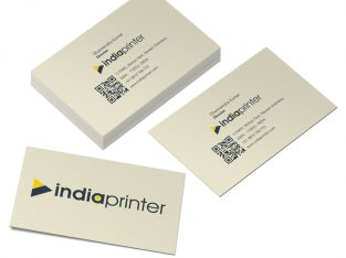 Business Cards – Natural Textured Paper