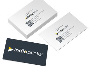 Business Cards – Metallic Textured Paper